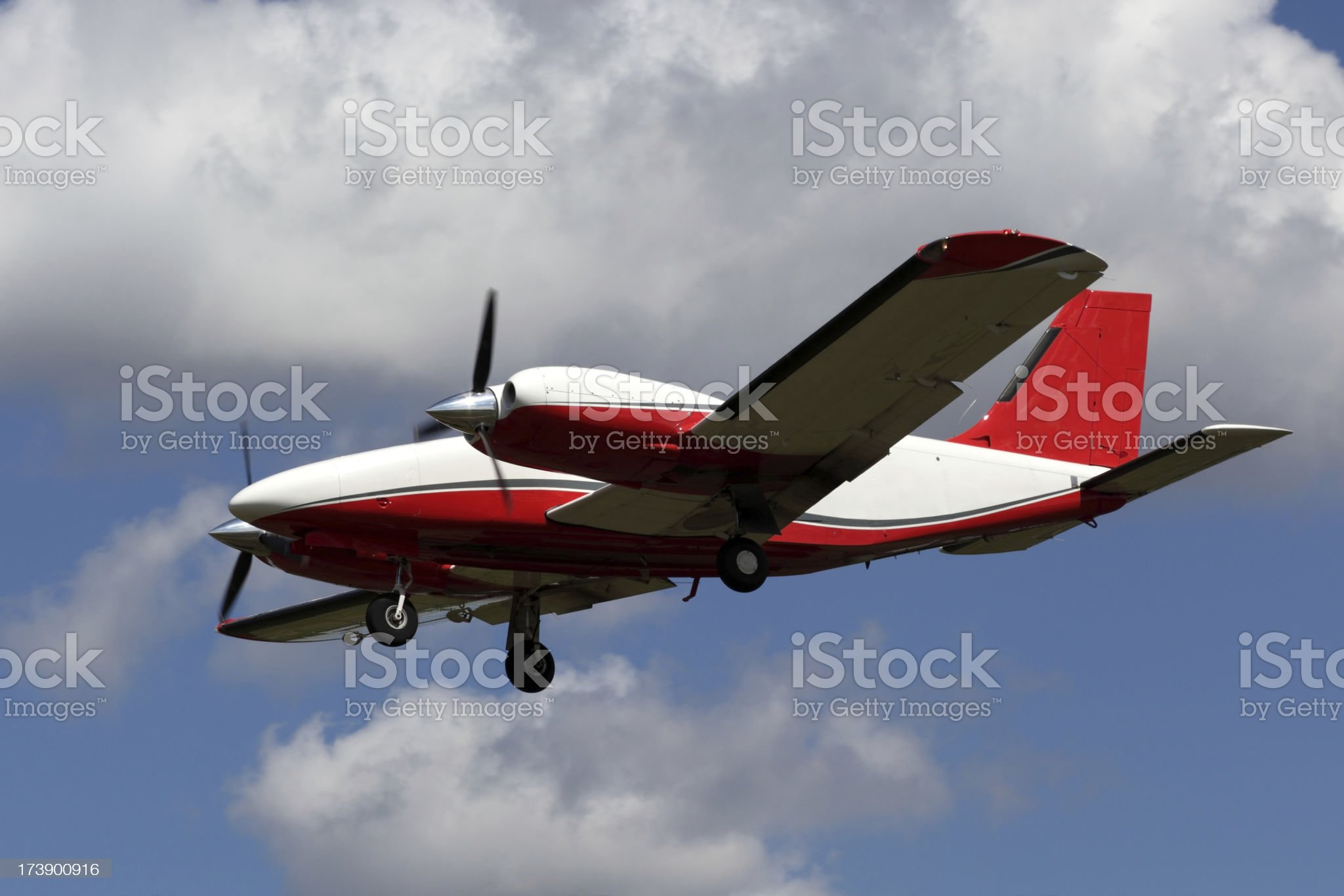 Private Airplane royalty-free stock photo