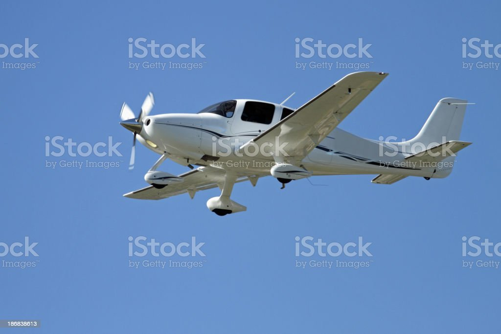 Private Airplane stock photo