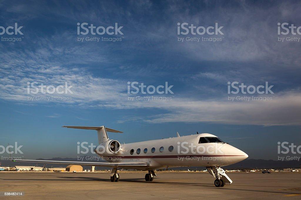 Private Airplane stock photo