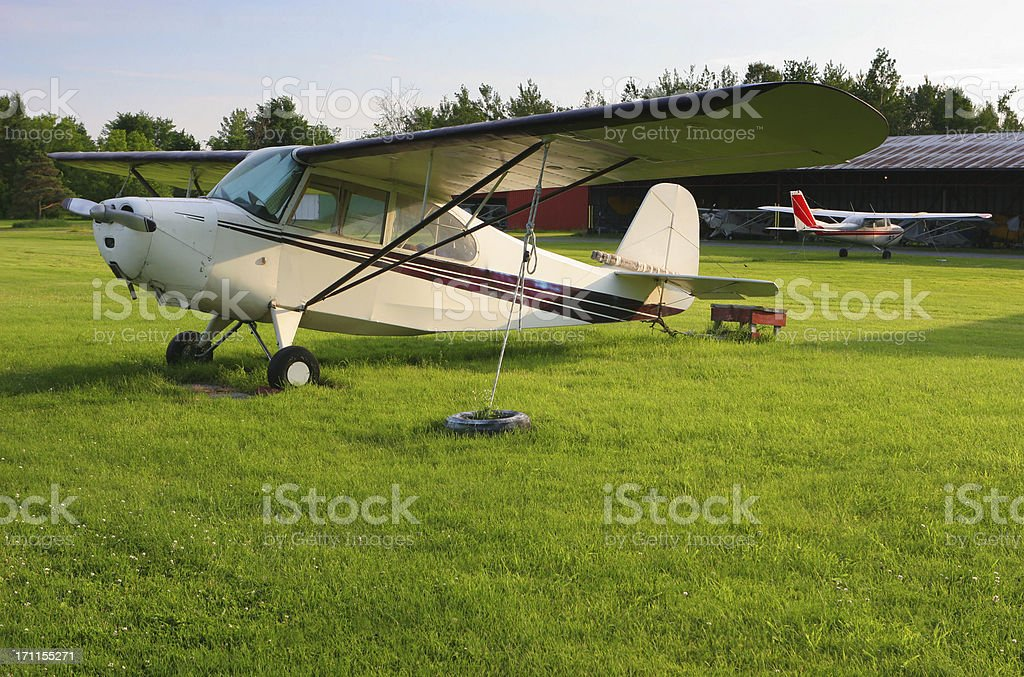 Private Airport royalty-free stock photo