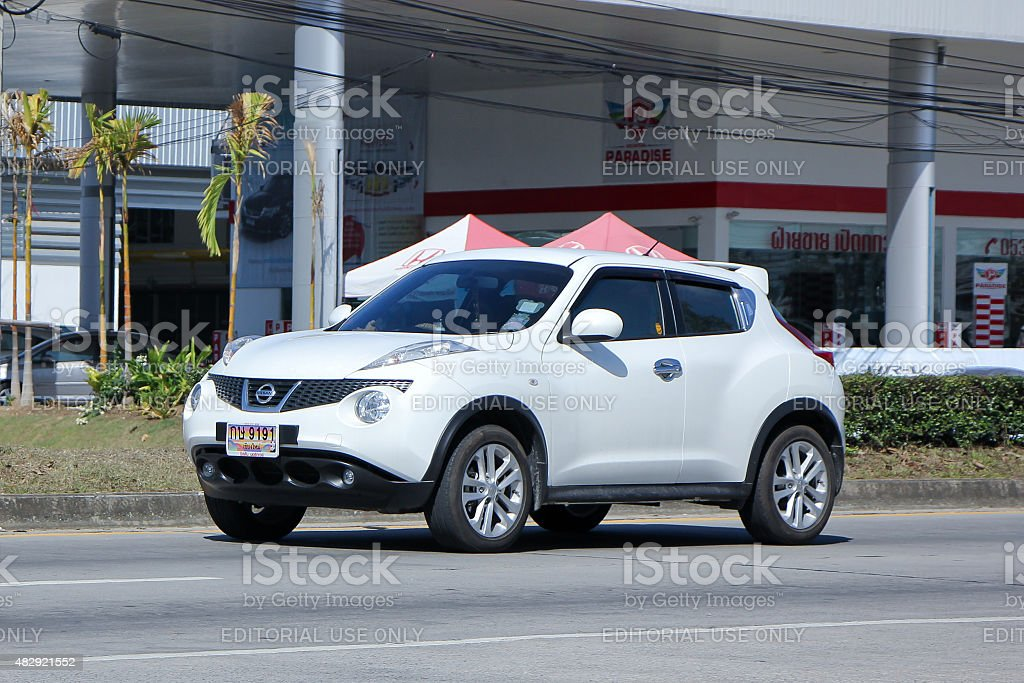 Private car, Nissan Juke stock photo