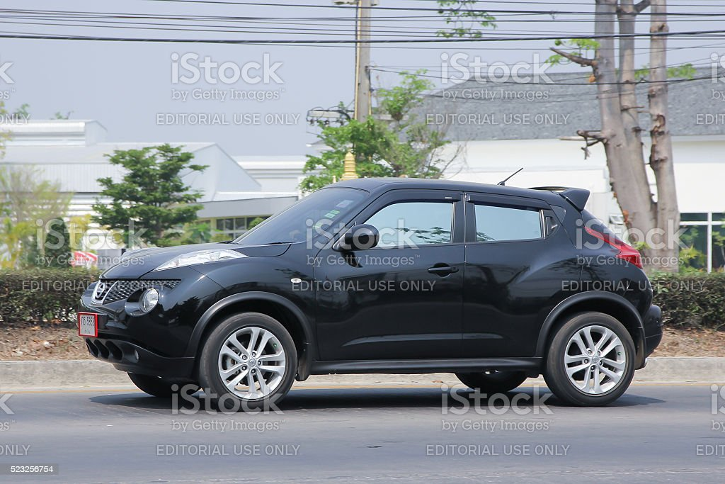 Private car, Nissan Juke. stock photo