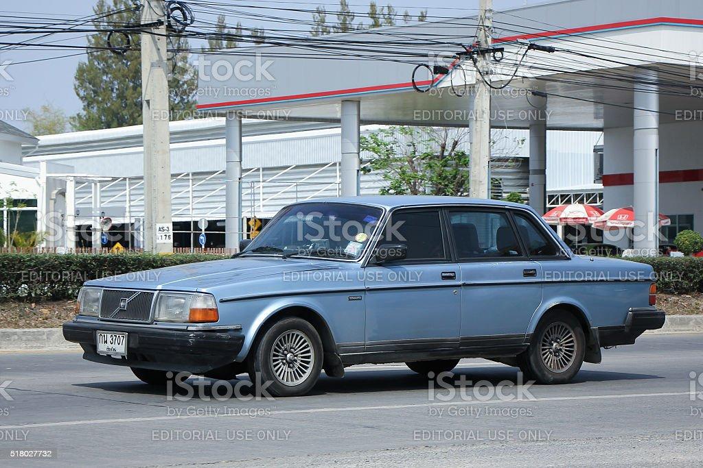 Private car, Volvo 240 stock photo