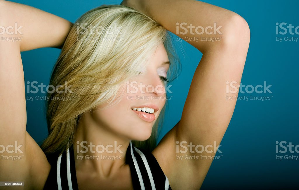 Private Dancer royalty-free stock photo