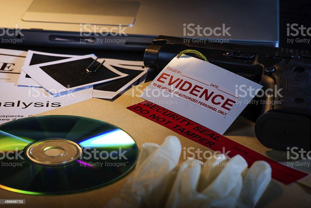 Private detective stock photo
