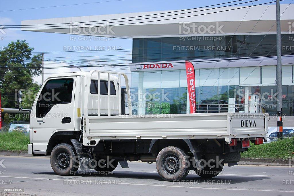 Private Deva Truck. stock photo