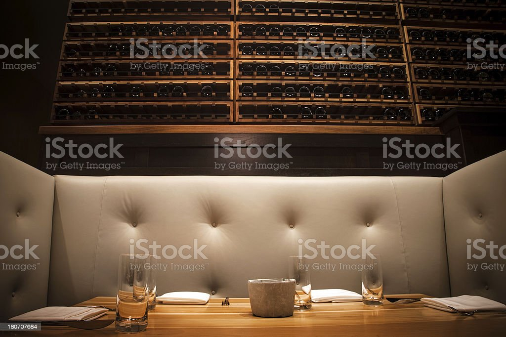 Private dining stock photo