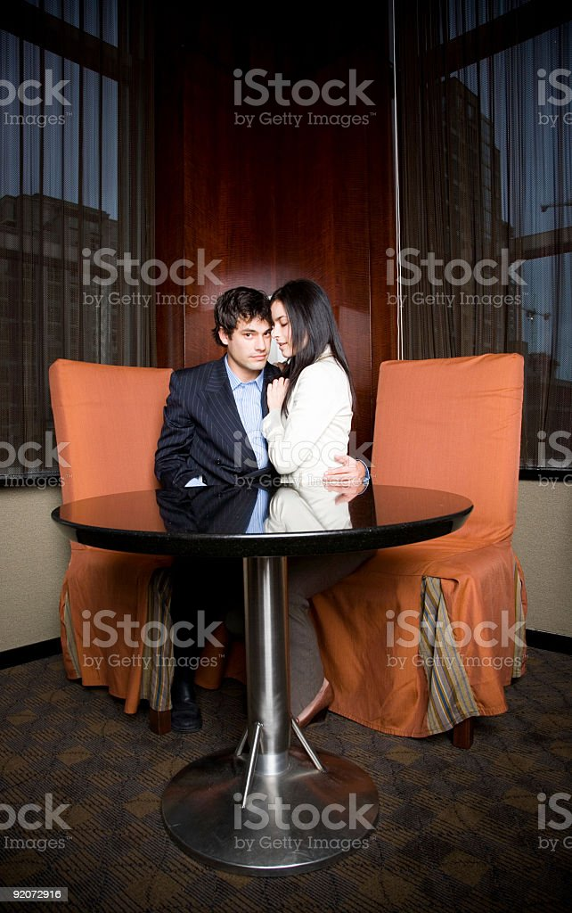 Private Dinner stock photo
