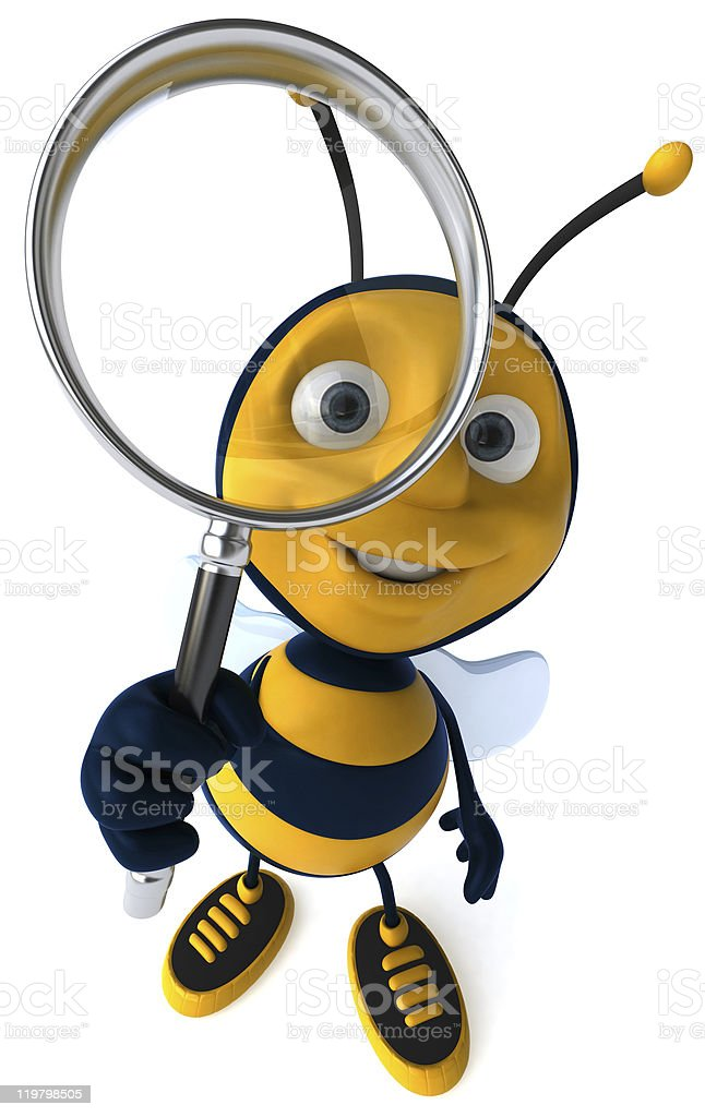 A Private Eye Bee Searching For The Truth stock photo 119798505 ...