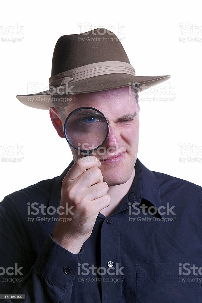 Private Eye stock photo