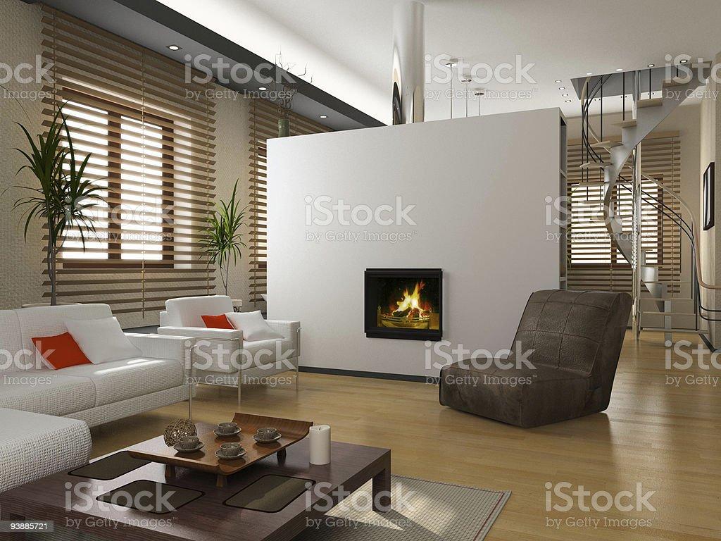 private interior stock photo