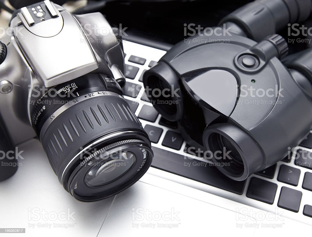 Private Investigation stock photo