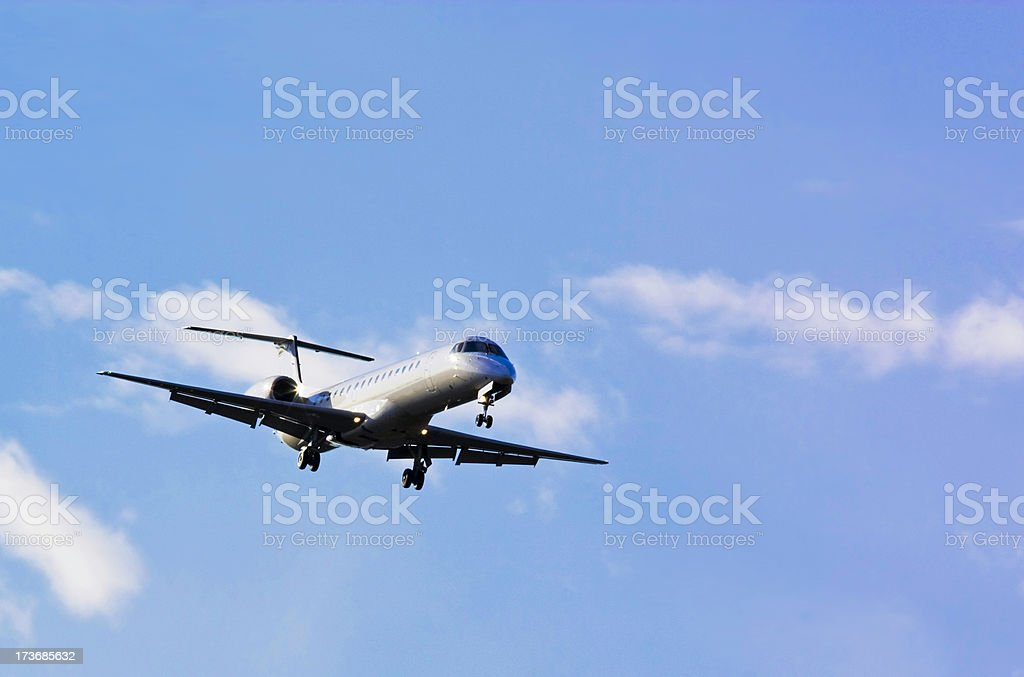 private jet royalty-free stock photo