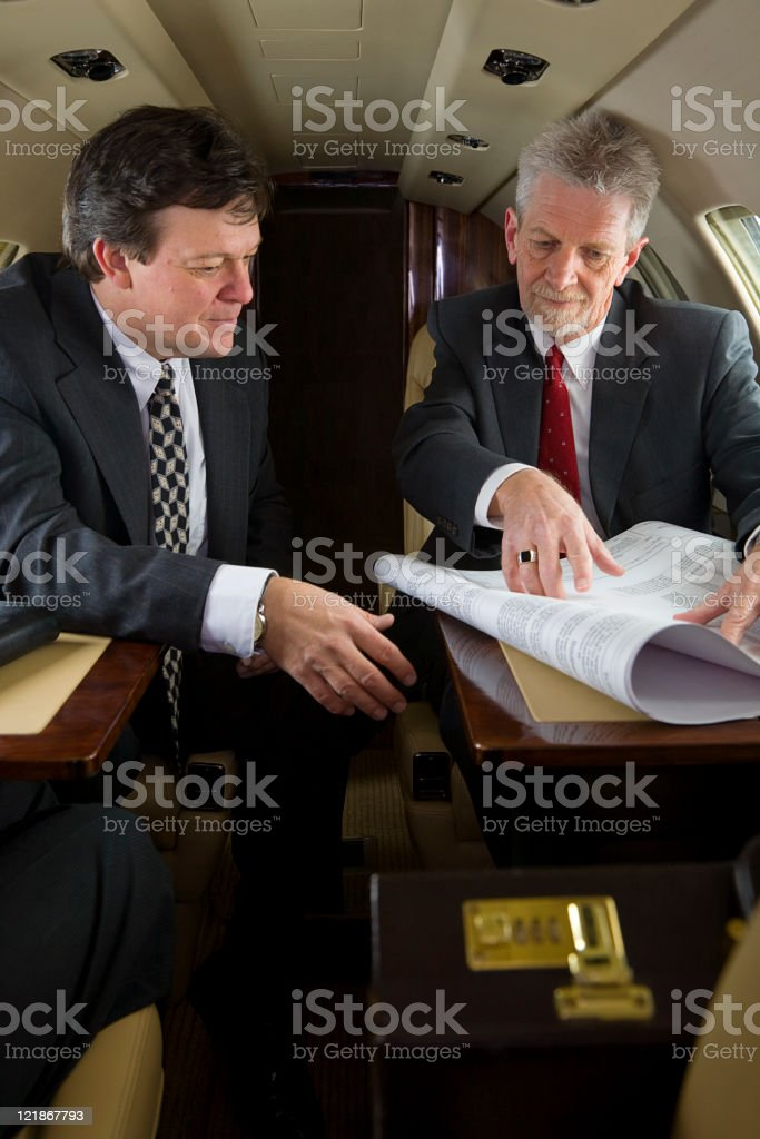 Private Jet Series royalty-free stock photo
