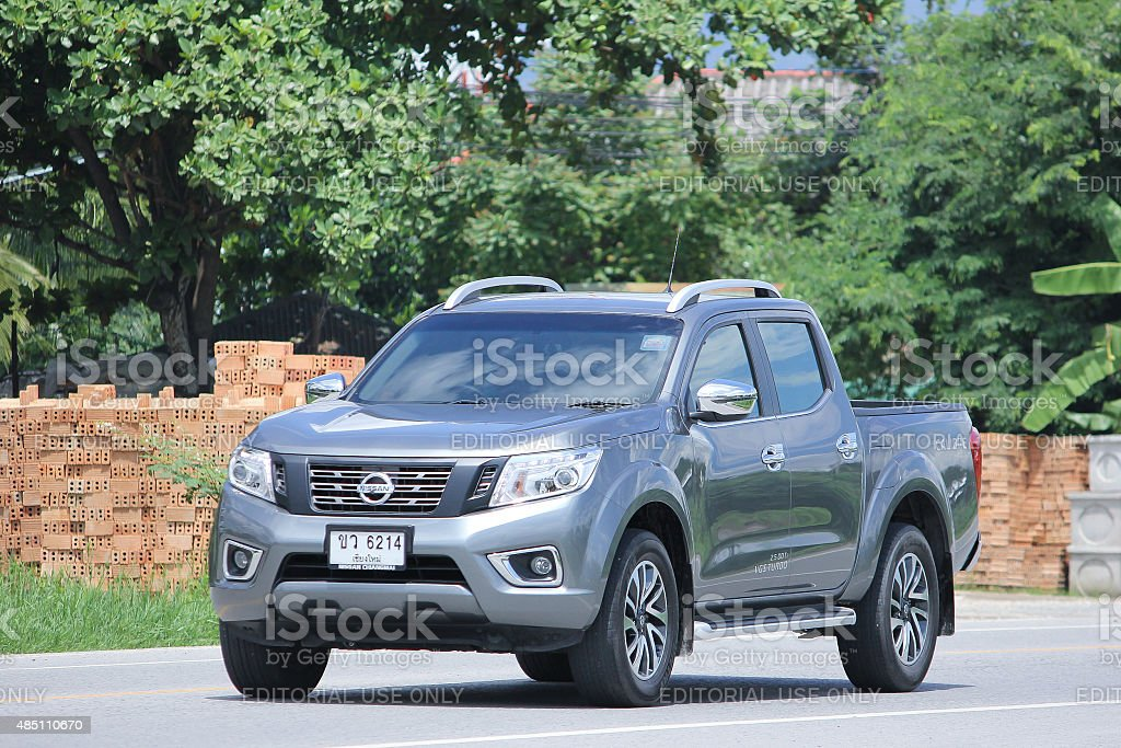Private Pickup car, Nissan Navara stock photo
