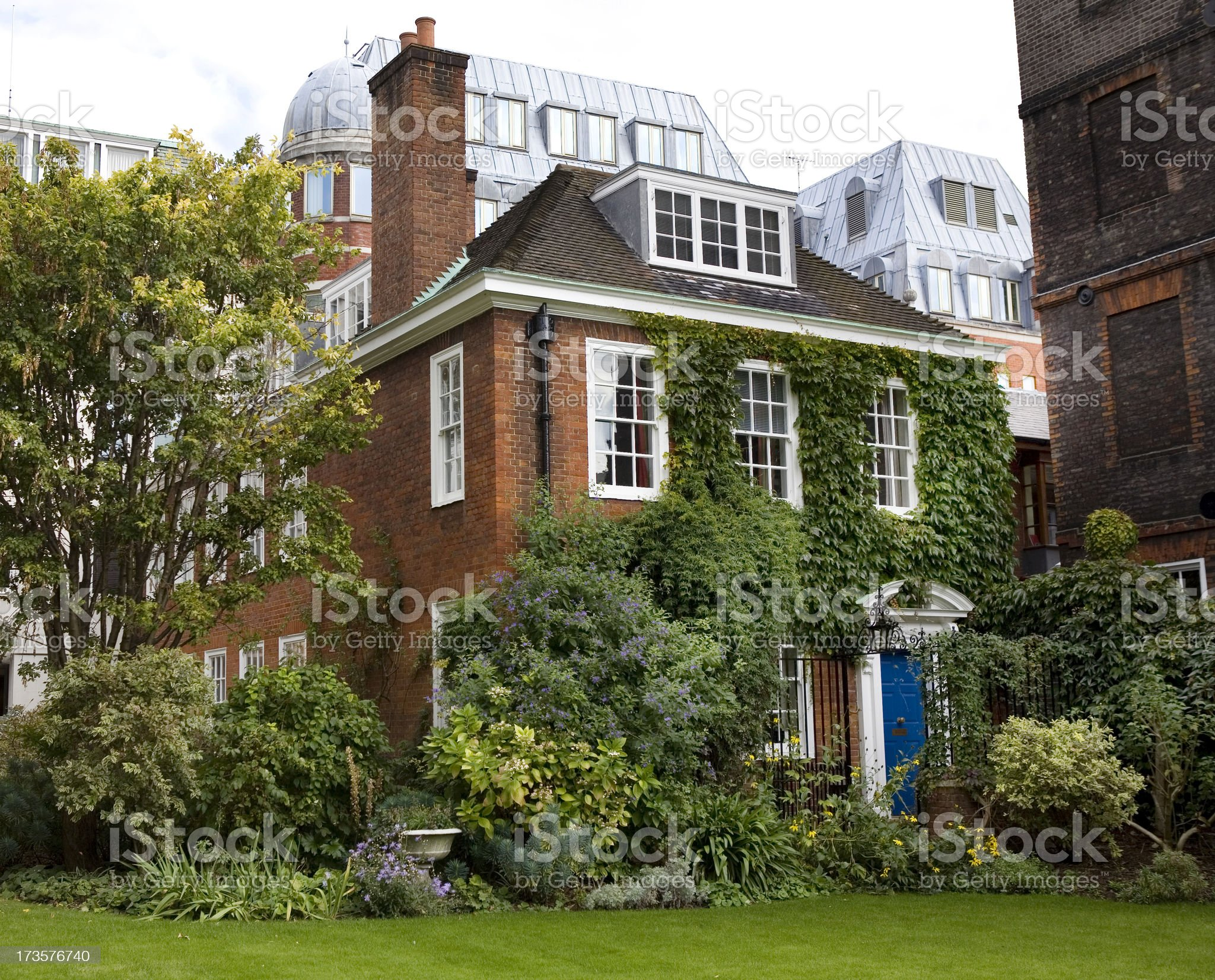 Private Residence in London England royalty-free stock photo