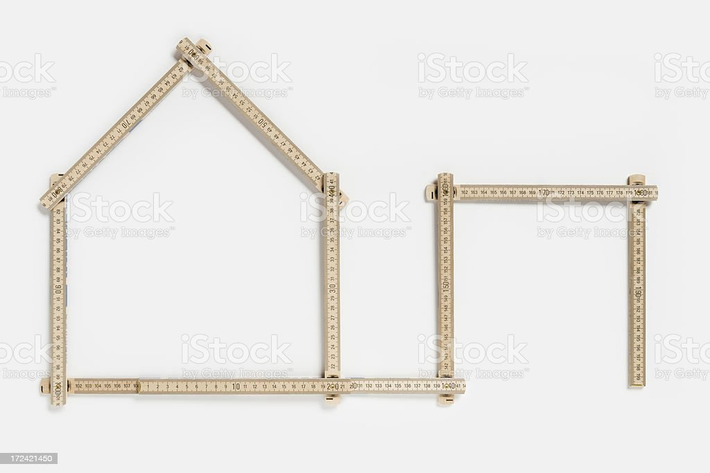 Private residential building planning (XXXLarge) stock photo