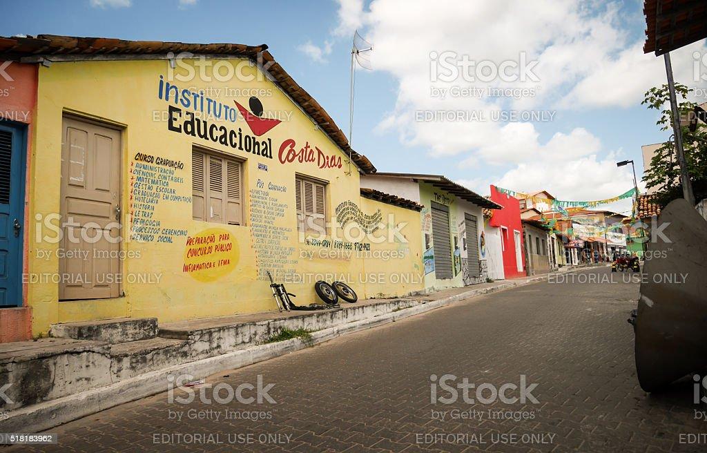 Private School, Barreirinhas, Brazil stock photo