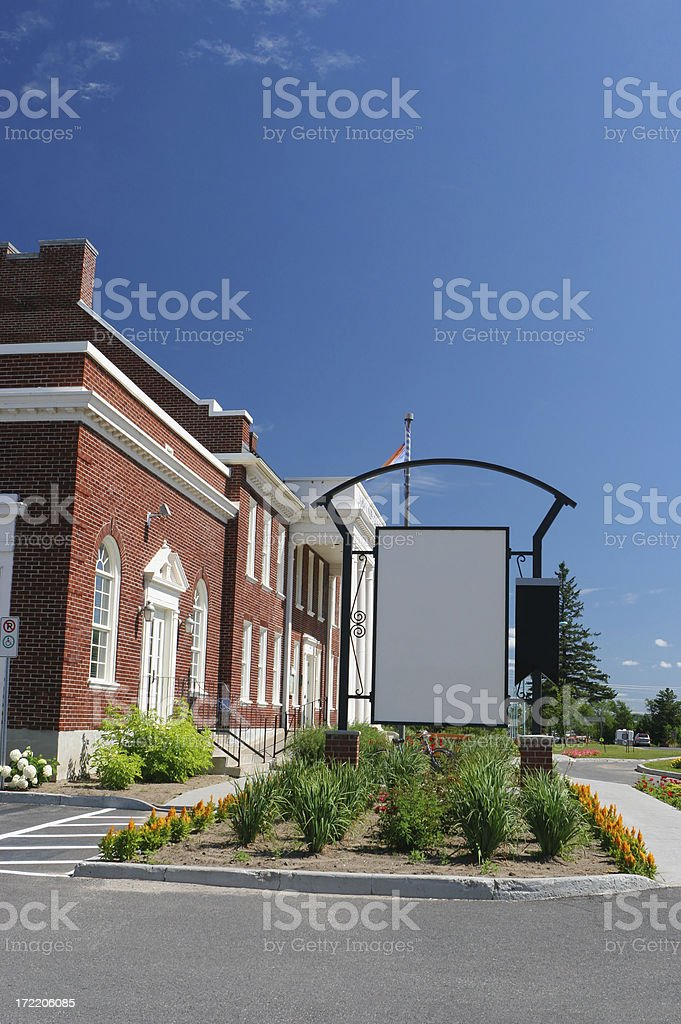 Private School Building royalty-free stock photo