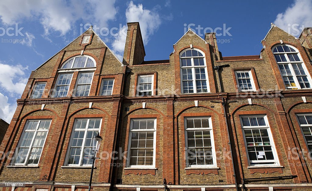 Private School in England royalty-free stock photo