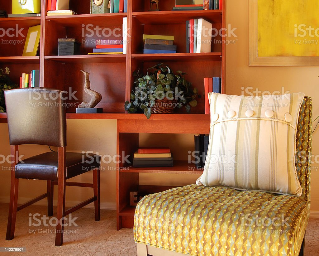 Private Study Room royalty-free stock photo