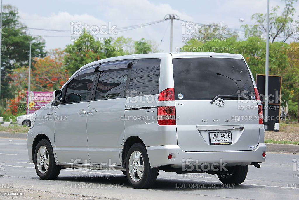 Private Toyota Noah stock photo