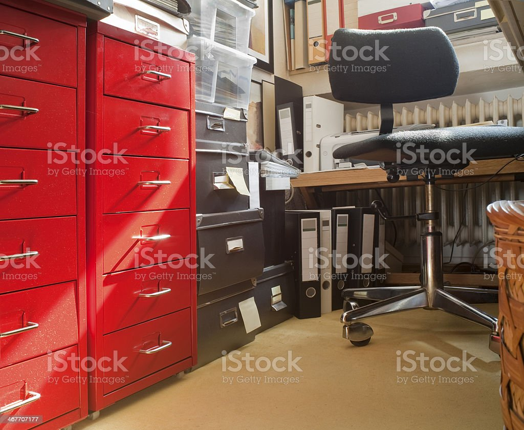 Private working place, stock photo
