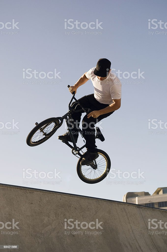 Pro BMX Styles royalty-free stock photo