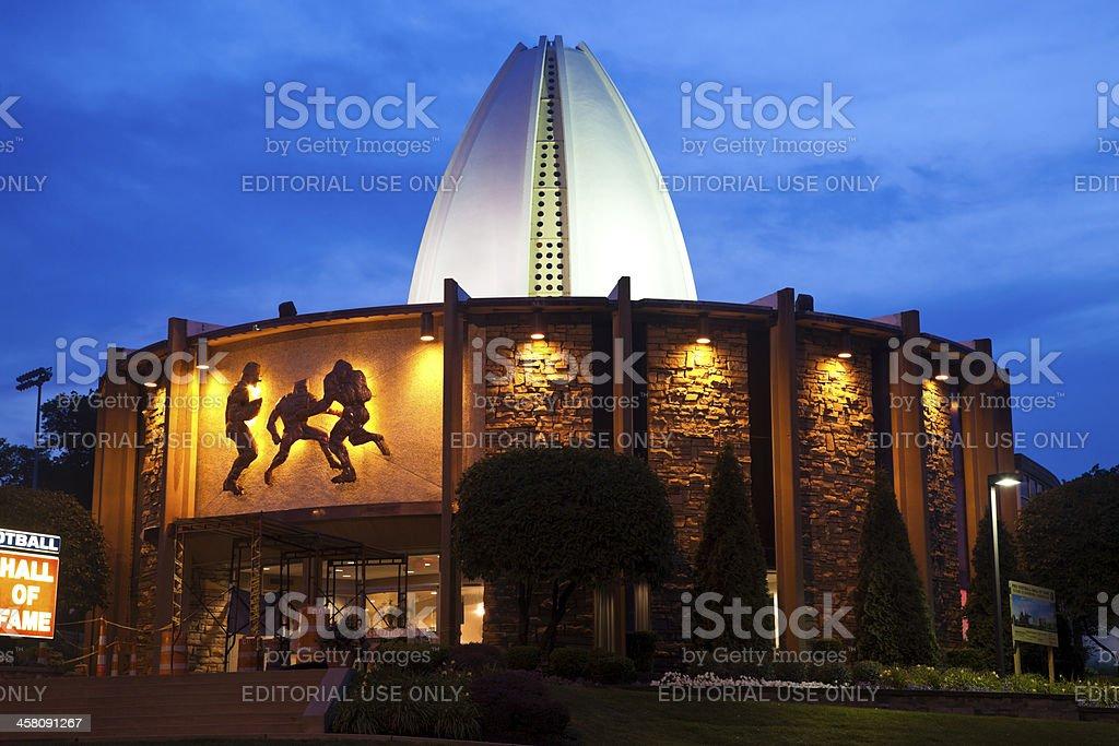 Pro Football Hall of Fame stock photo