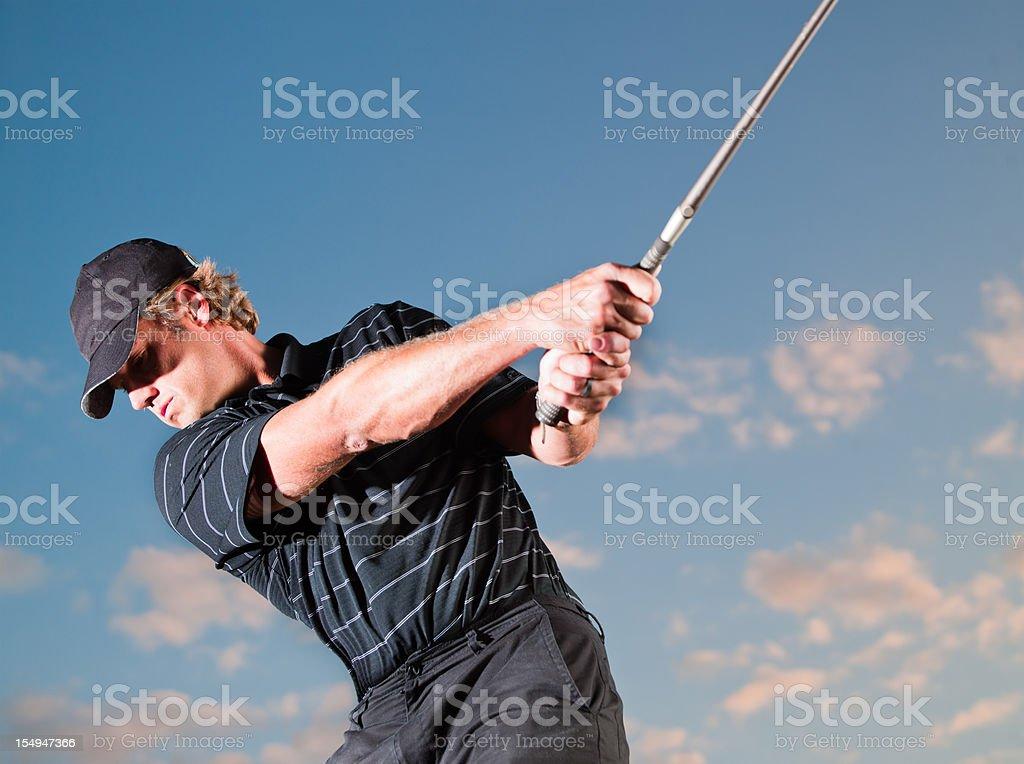 Pro Golfer royalty-free stock photo
