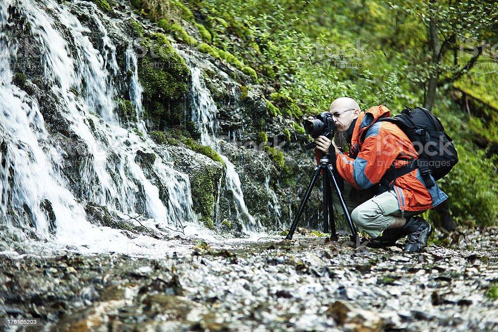 Pro Landscape Photographer royalty-free stock photo