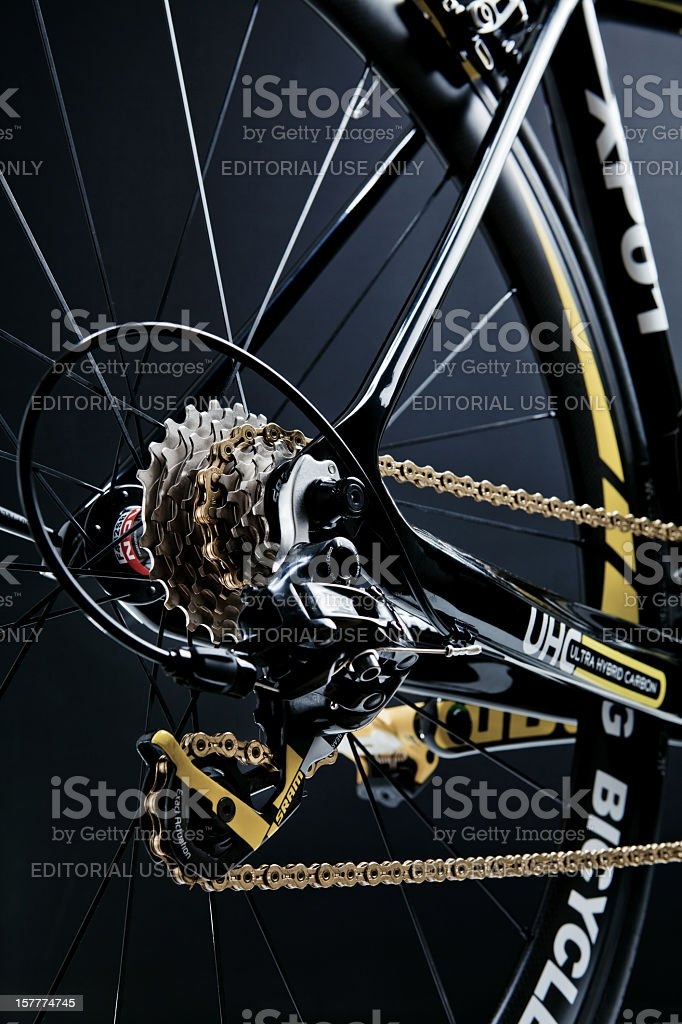 Pro Road Bicycle royalty-free stock photo