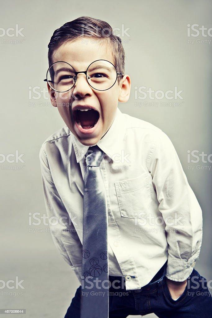 Problem boy stock photo