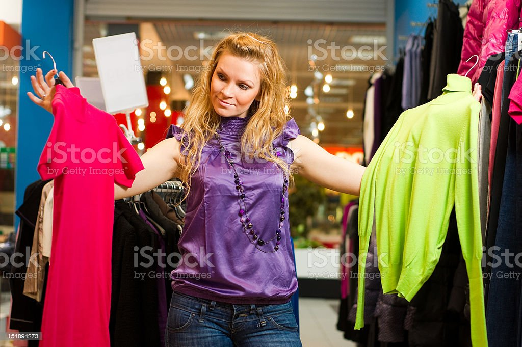 Problem of choice royalty-free stock photo
