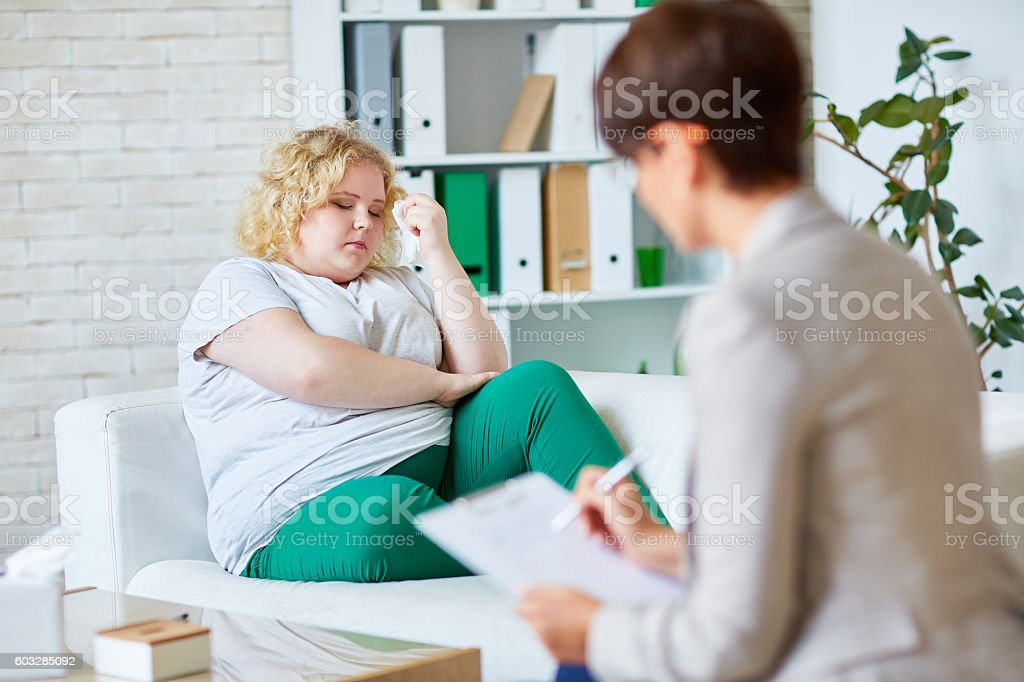 Problem of overweight stock photo