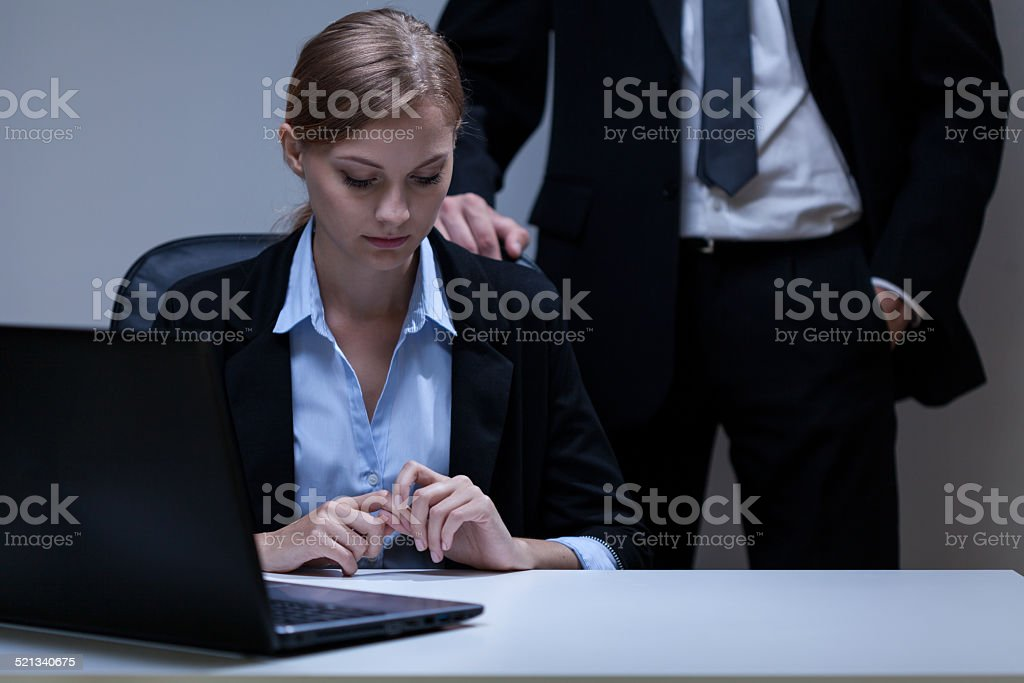 Problem with boss stock photo