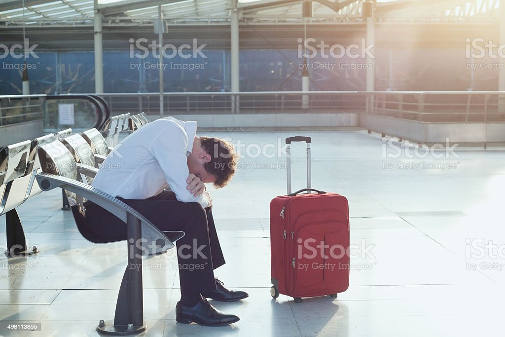 problem with transportation stock photo