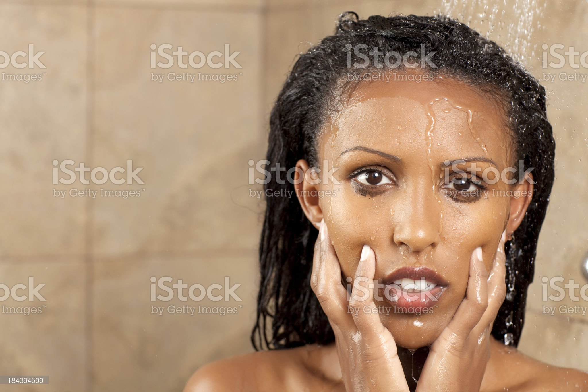Problems faced by woman. royalty-free stock photo