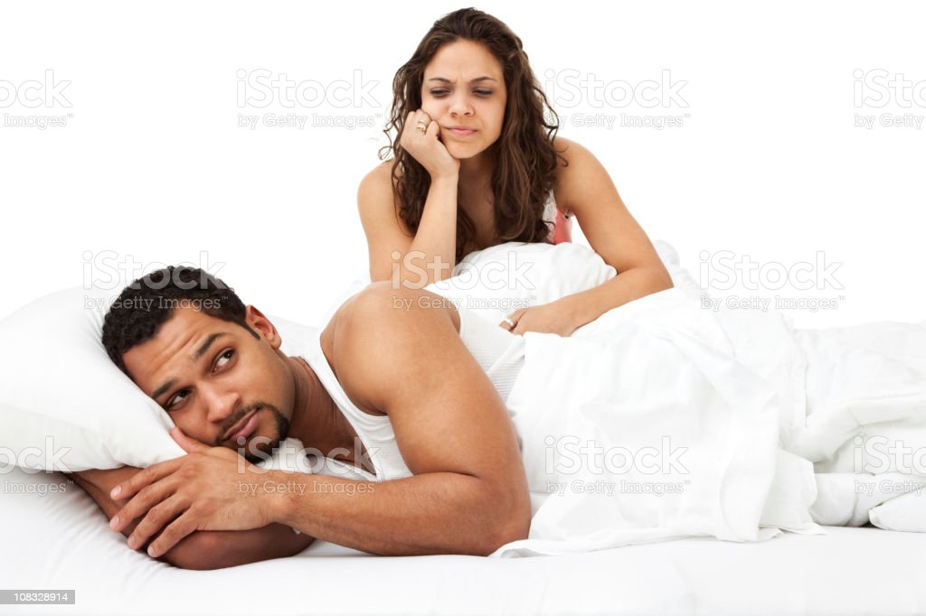 Problems in The Bedroom royalty-free stock photo