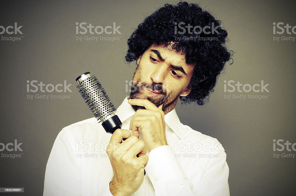 Problems with Hair? royalty-free stock photo