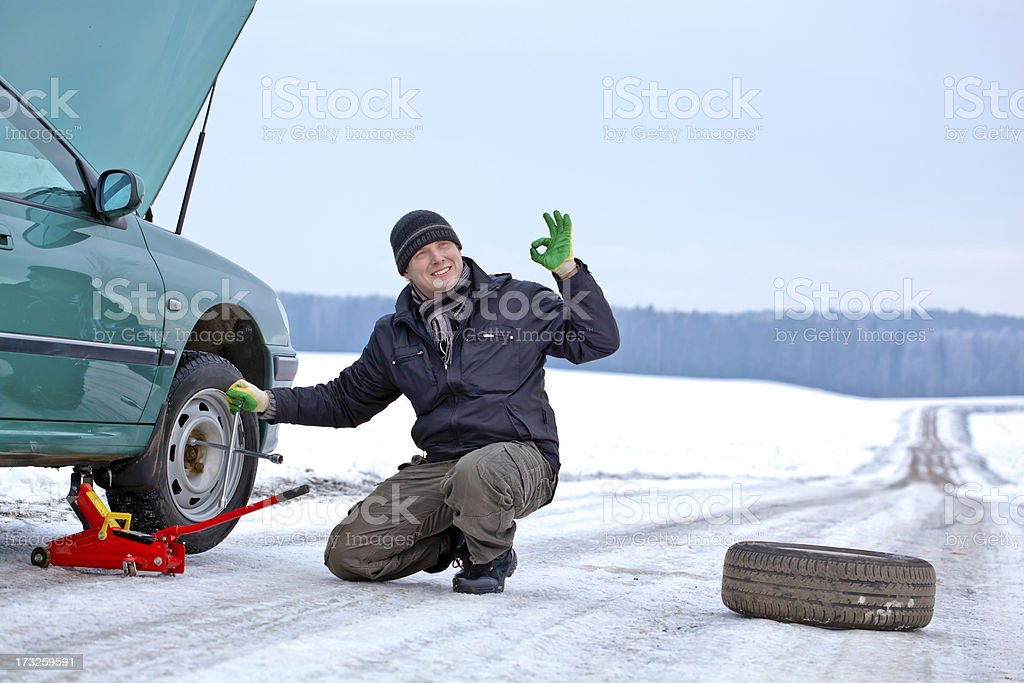 Problems with the car stock photo