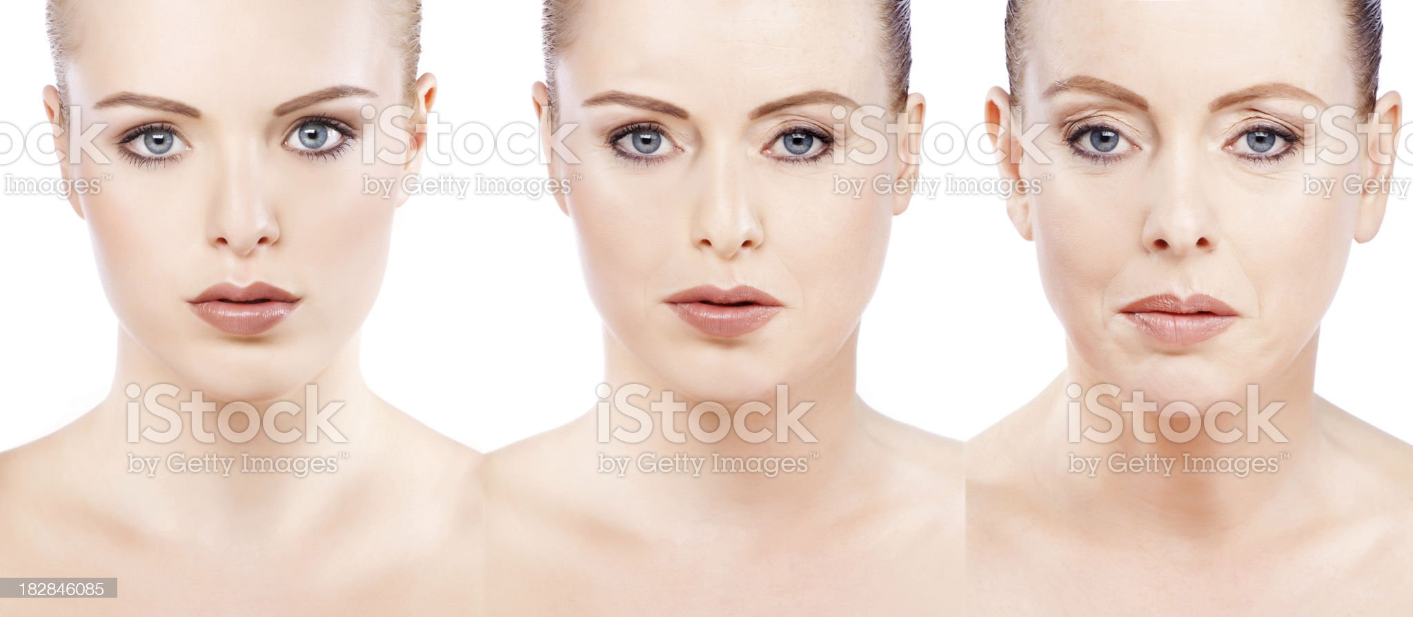 process of aging royalty-free stock photo