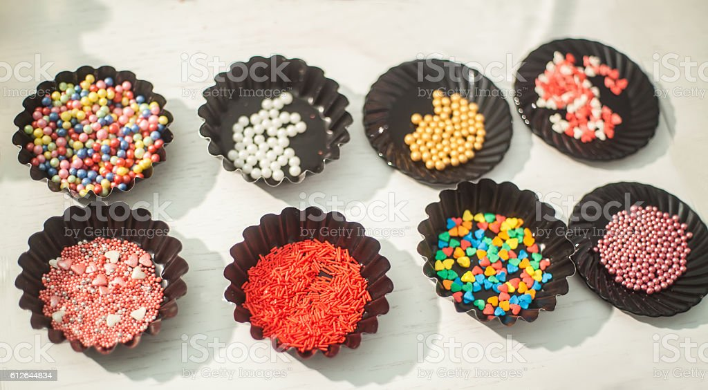 Process of baking homemade cake pops royalty-free stock photo