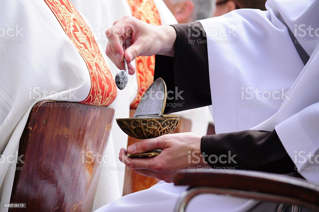Procession of Body of Christ stock photo