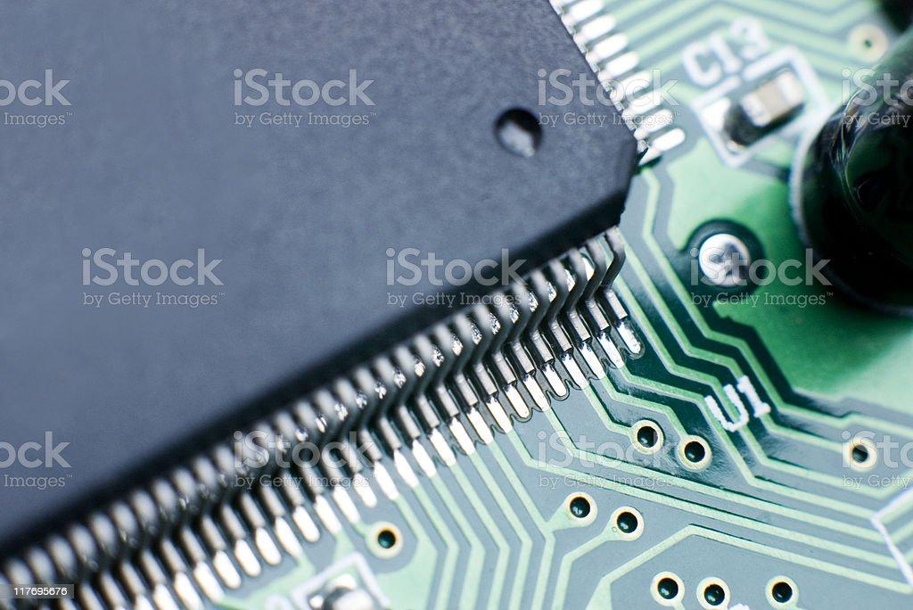Processor Circuit Board stock photo
