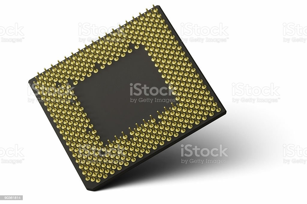 CPU Processor stock photo