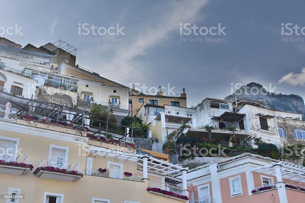 Procida, Fisherman's Village 'La Corricella', Bay of Naples, Italy stock photo
