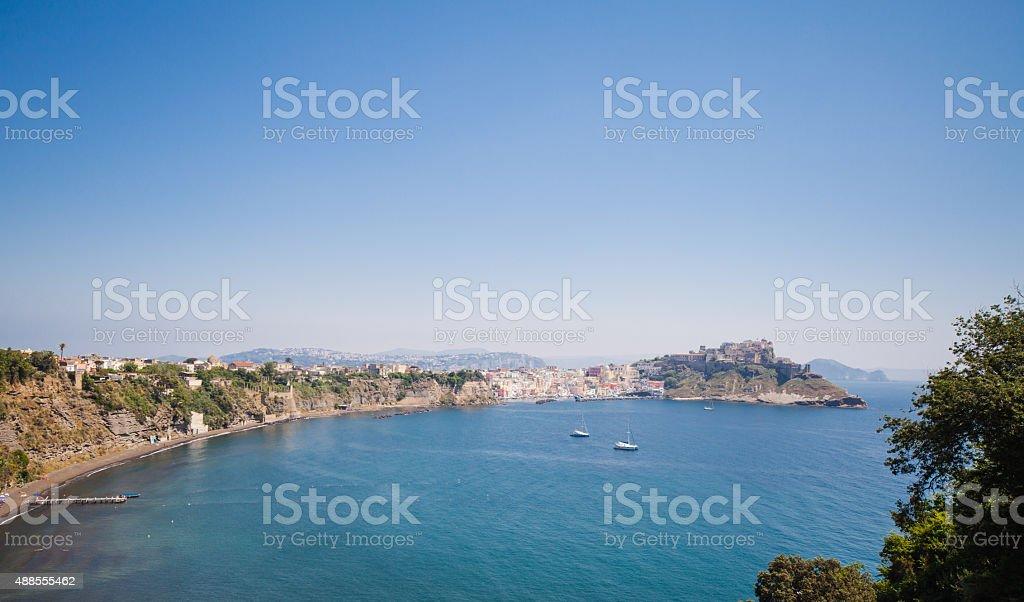 Procida Island, Bay of Naples, Italy stock photo