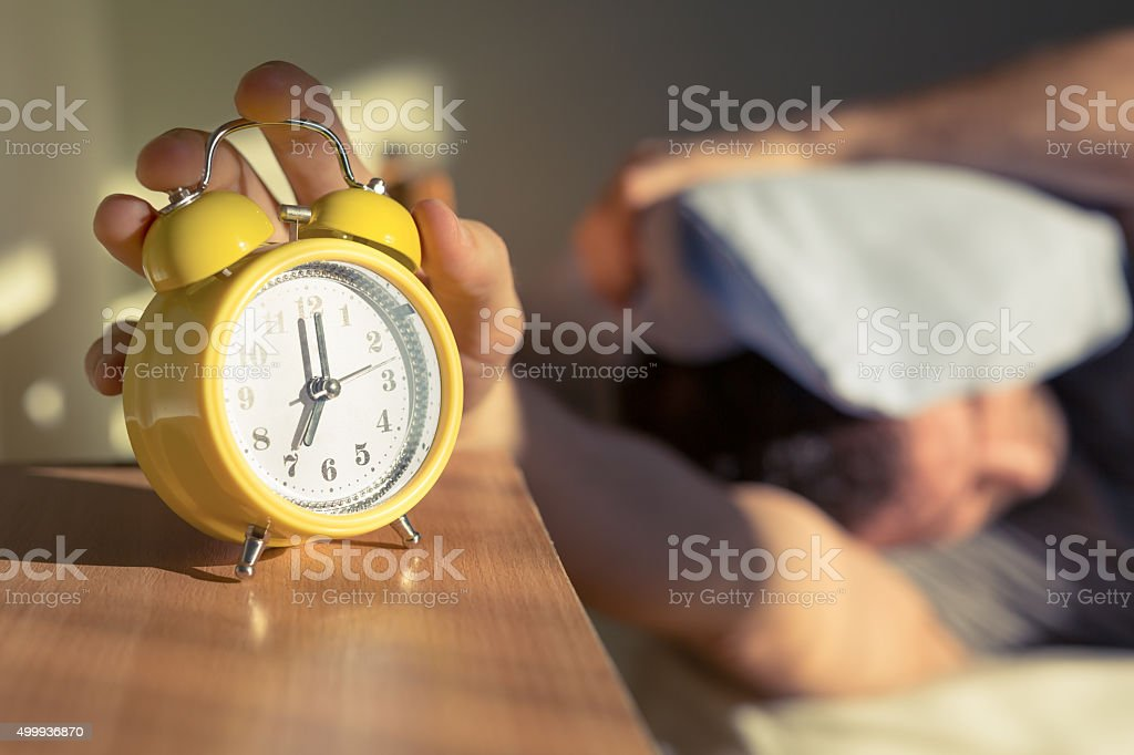 Procrastination stock photo