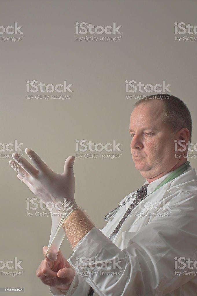 Proctologist stock photo